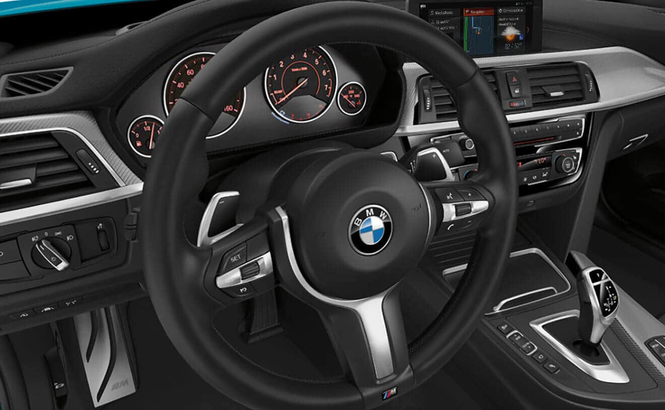 Tech-Loaded Interior of the 2018 BMW 4 Series