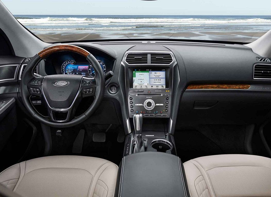 Interior of the 2018 Explorer