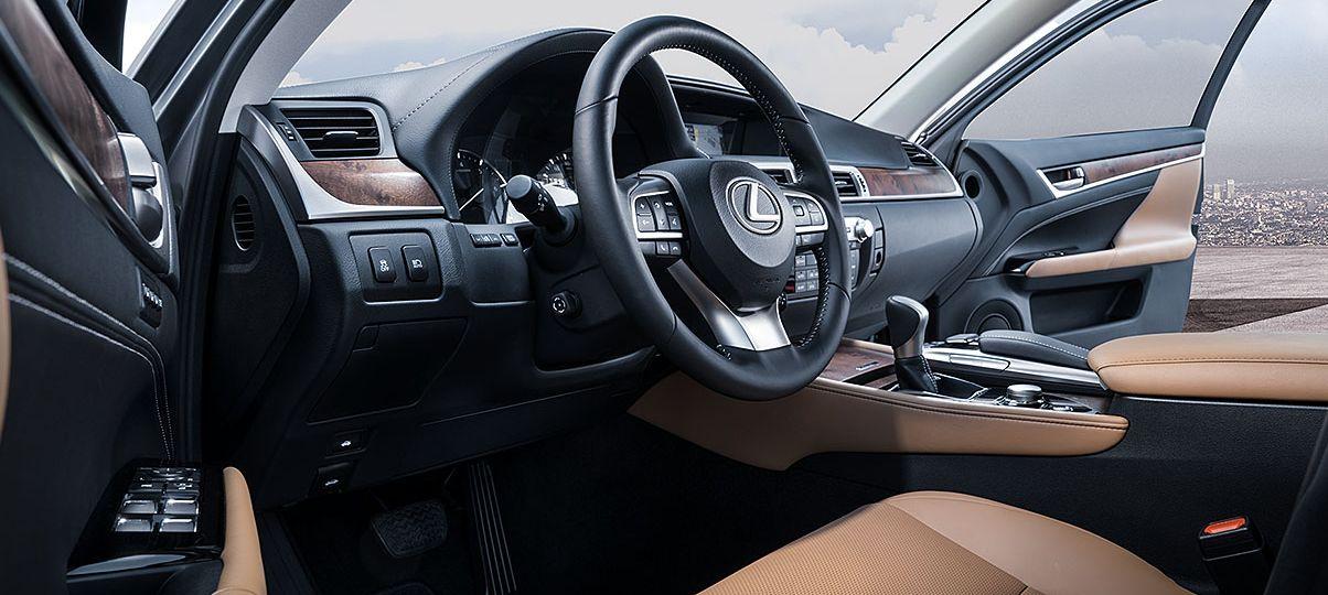 Interior Of The 2018 Lexus GS 350