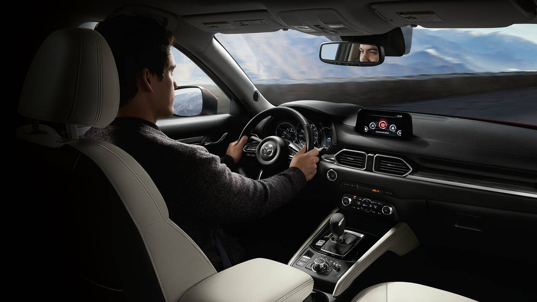 Interior of the 2018 Mazda CX-5