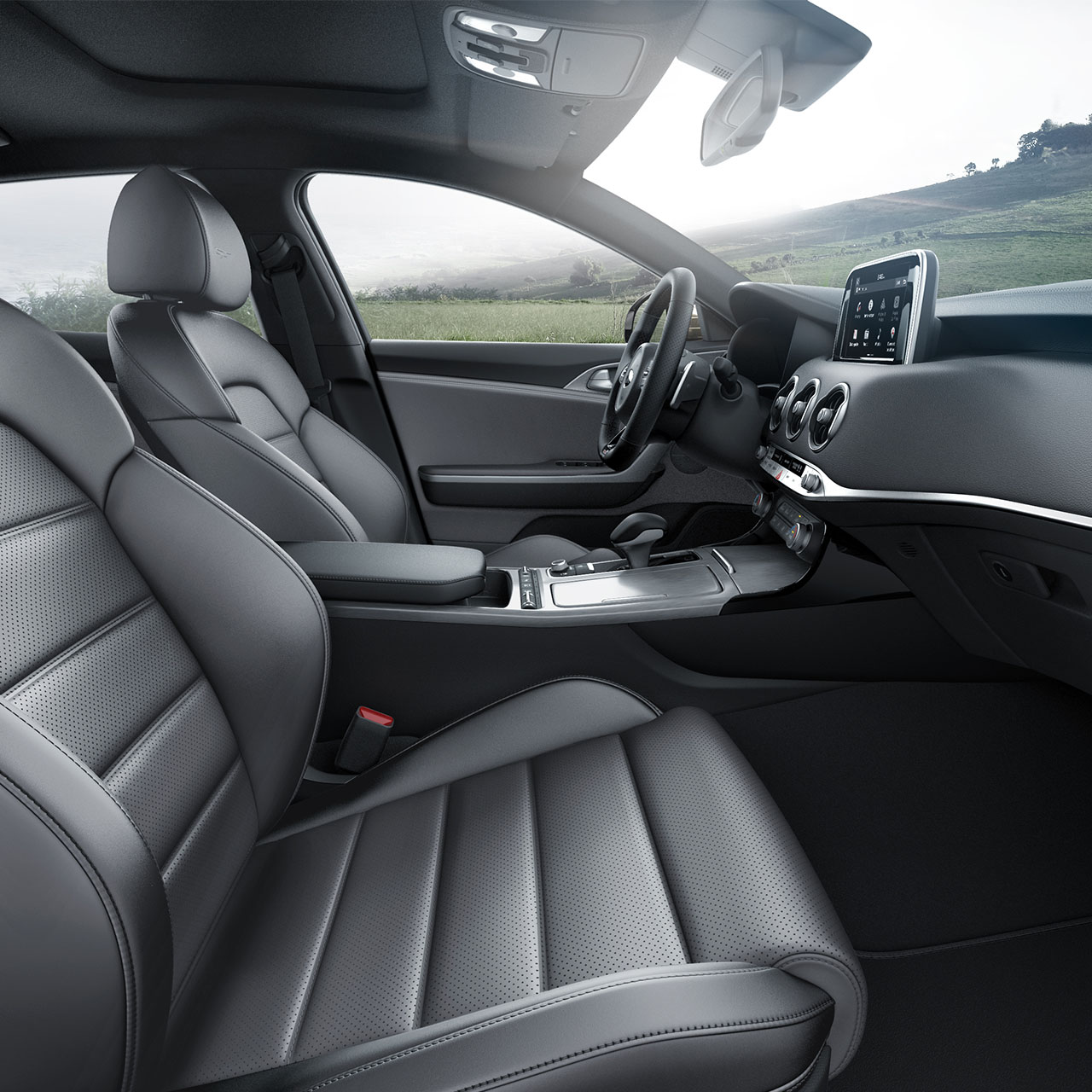 The Grand Interior of the 2018 Stinger