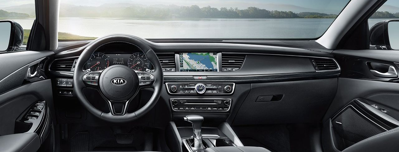 Interior of the 2018 Kia Cadenza