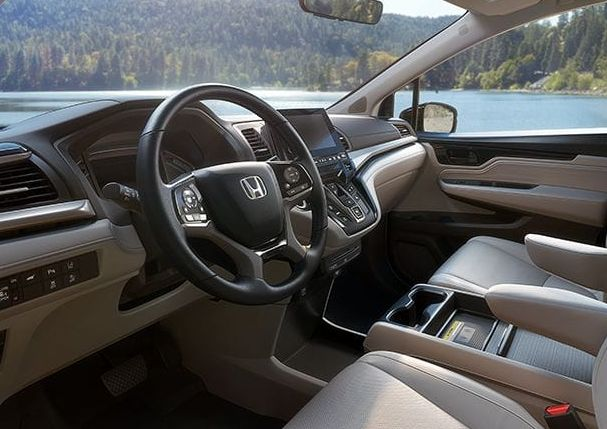 Interior of the 2018 Honda Odyssey