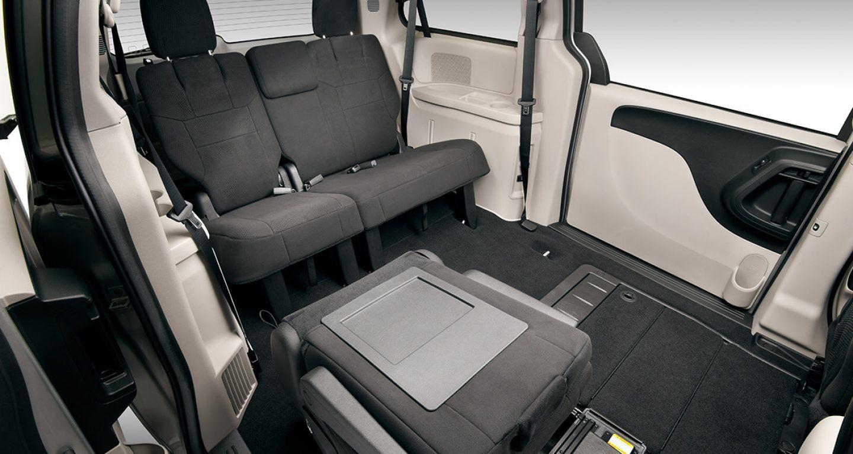 Interior of the 2018 Dodge Grand Caravan