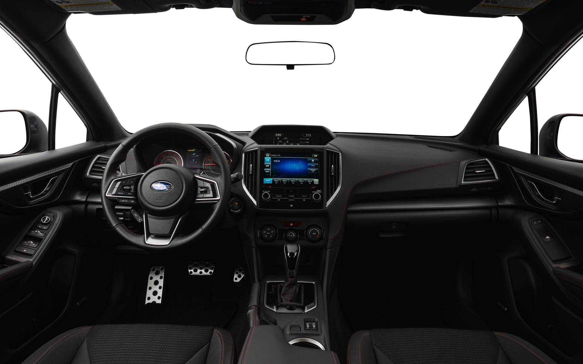 The Sport Cockpit of the Subaru Impreza