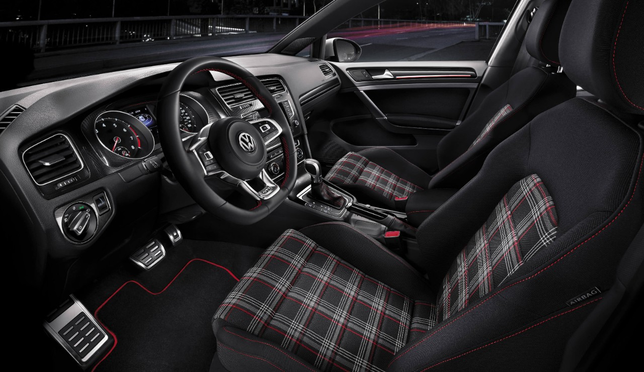 Available Plaid Upholstery for the Golf GTI