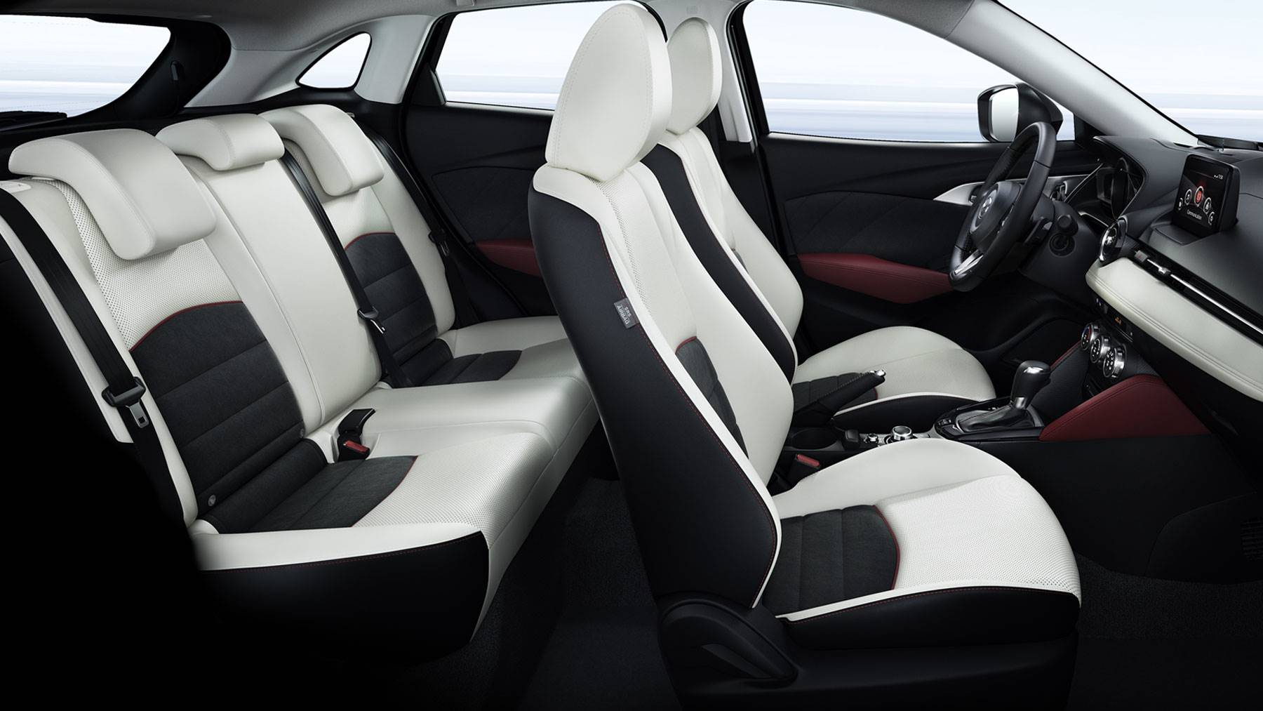 The Luxuriously Appointed Interior of the Mazda CX-3