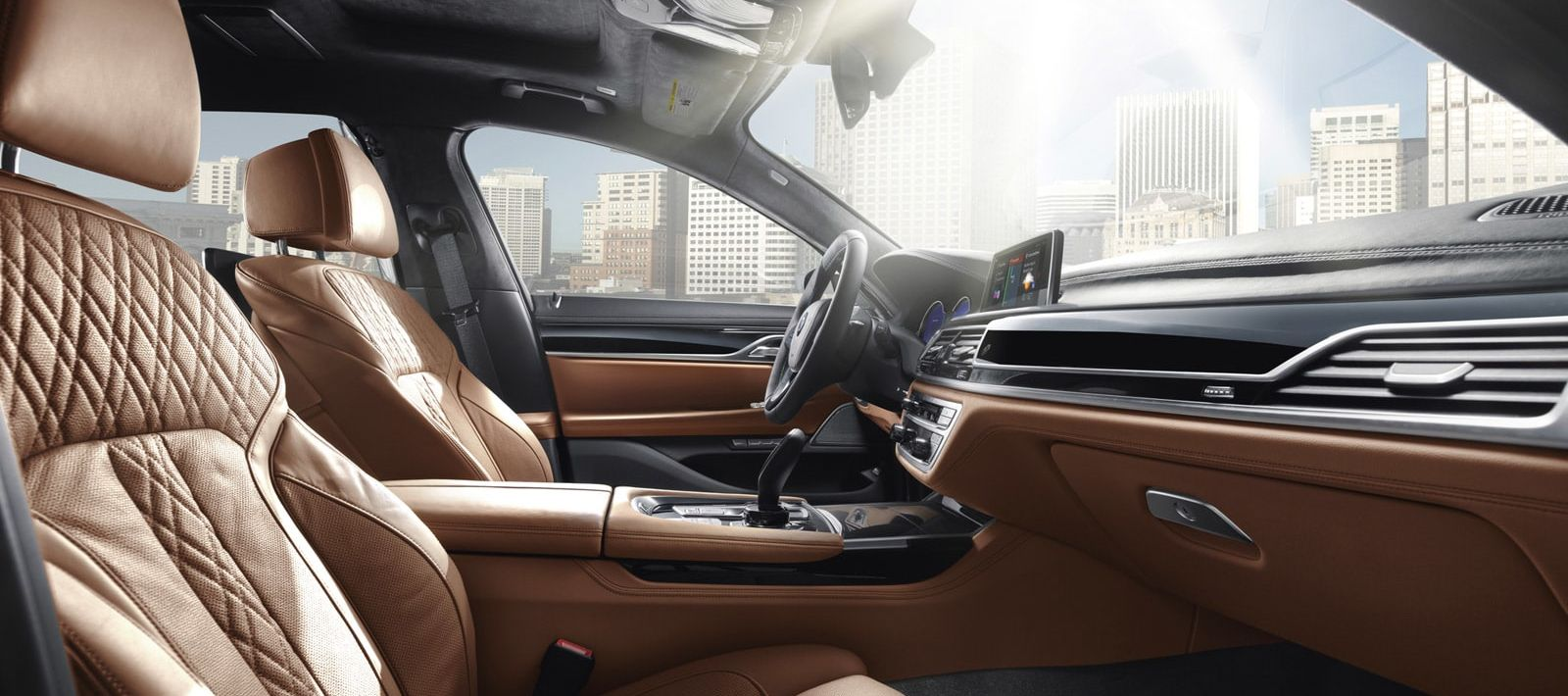 Interior of the 2018 BMW 7 Series