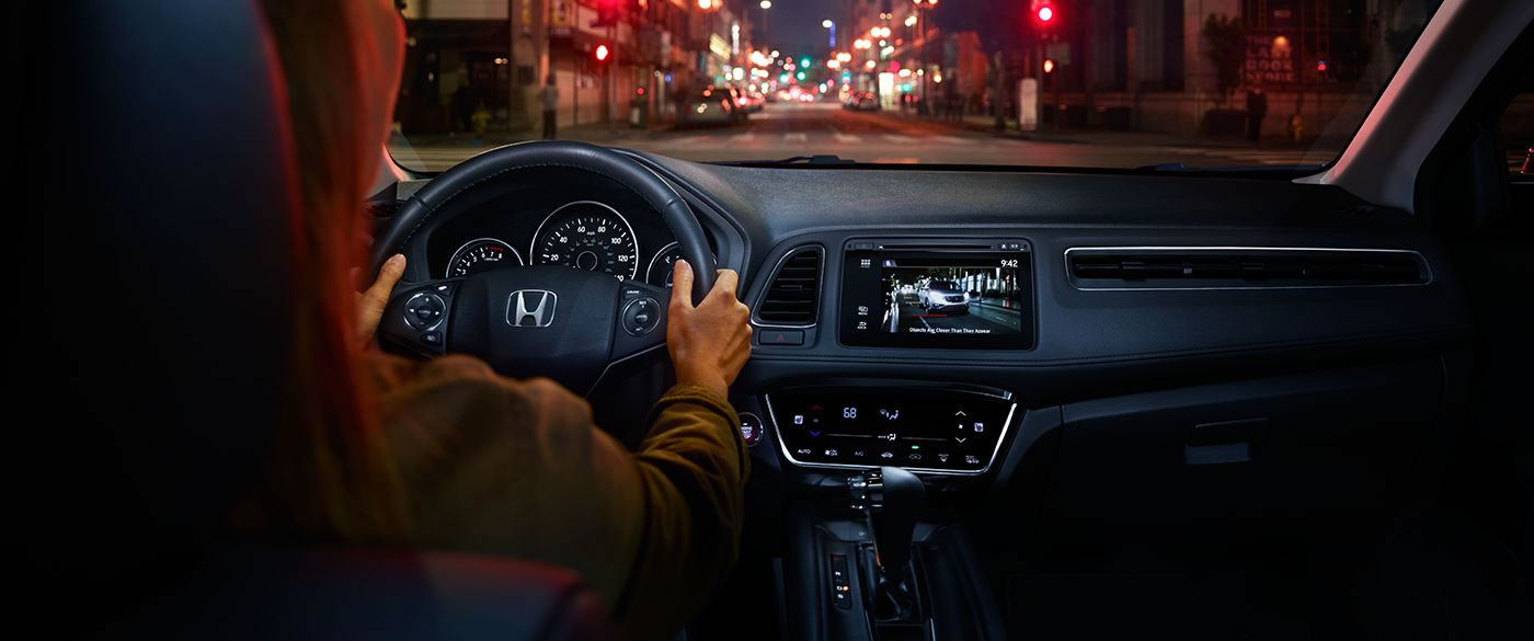 Interior of the 2018 Honda HR-V