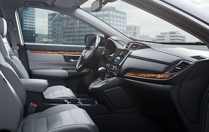 Interior Of The 2018 Honda CR V