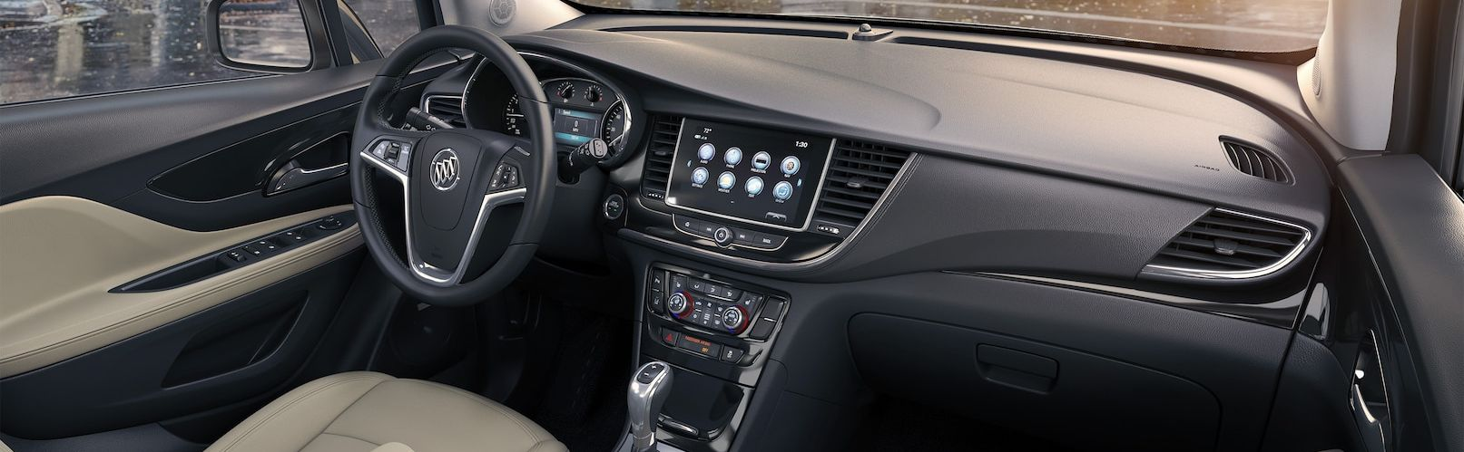 Interior of the 2017 Buick Encore