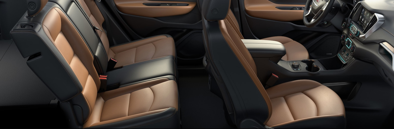 Interior of the 2017 GMC Terrain