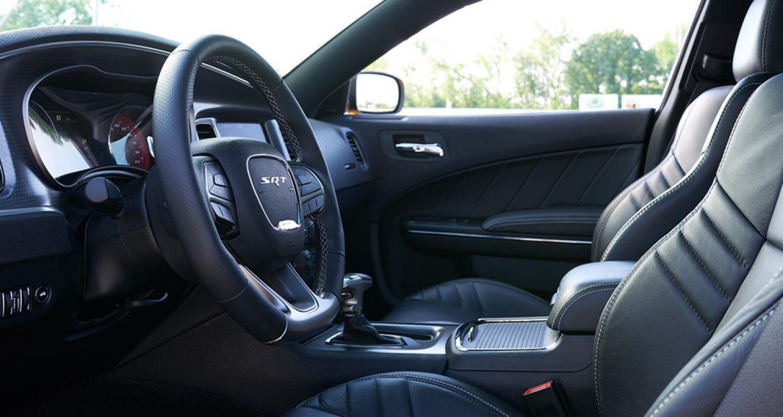 2018 Dodge Charger Laguna Leather Interior