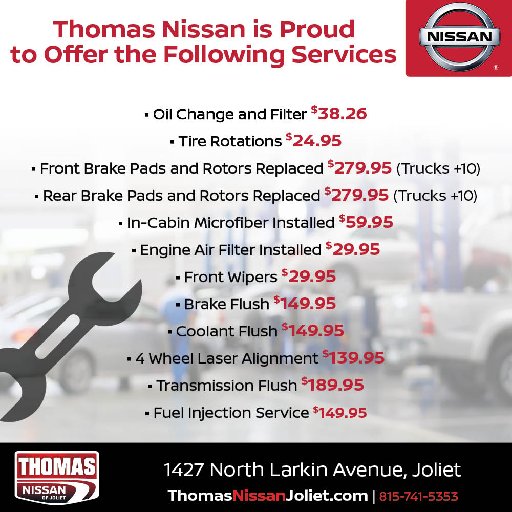 Good Nissan Service Pricing