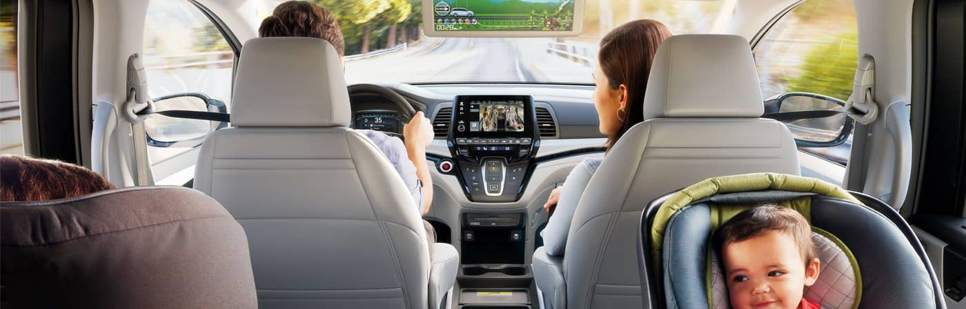 Engaging Cabin of the 2018 Honda Odyssey