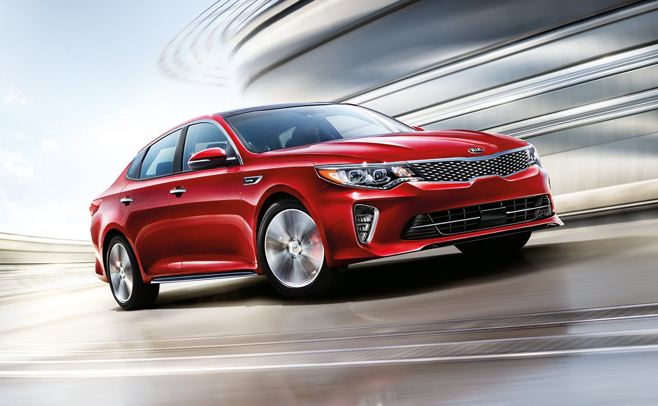 2018 Kia Optima Leasing near Conroe, TX