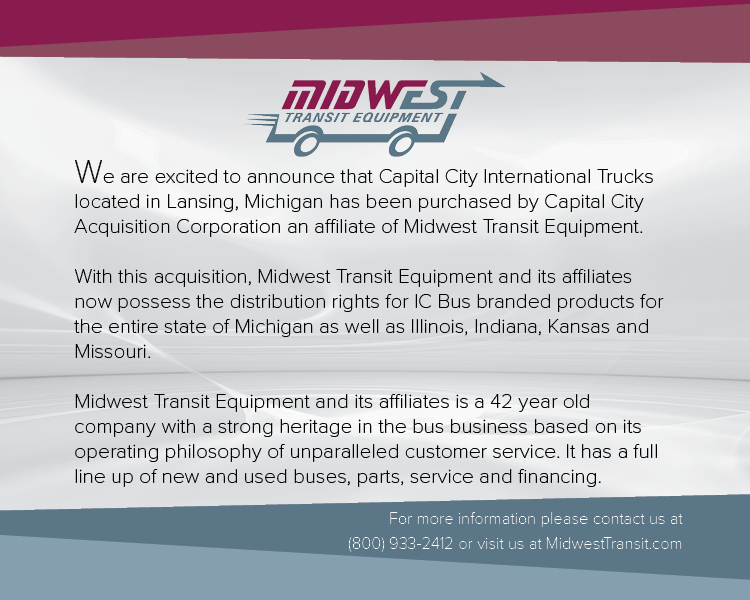 Midwest Transit Equipment | New Buses and Used Buses for Sale