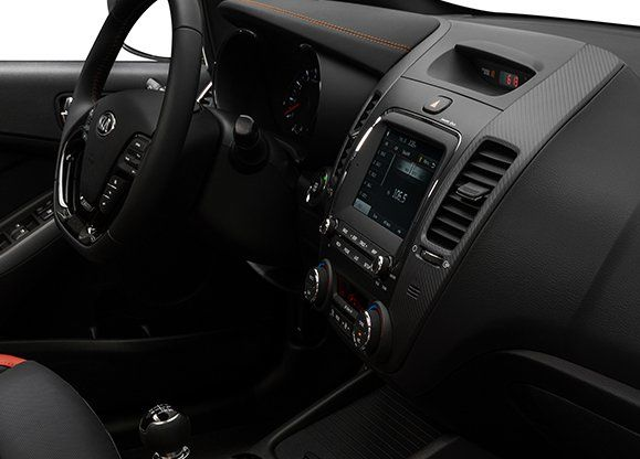 Interior of the 2018 Kia Forte5