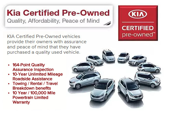 Kia Certified Pre-Owned >> Benefits Of Kia Certified Pre Owned In Rockford
