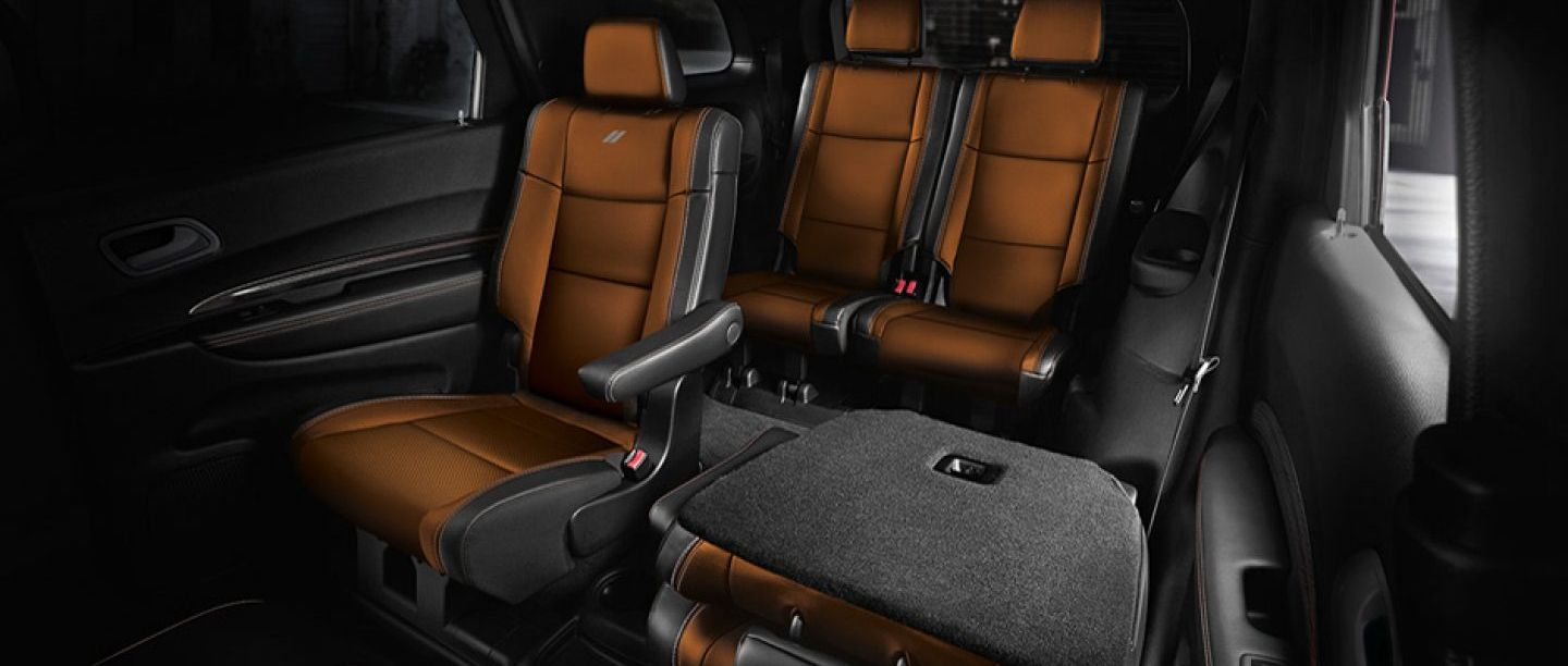 Spacious Cabin of the 2018 Dodge Durango