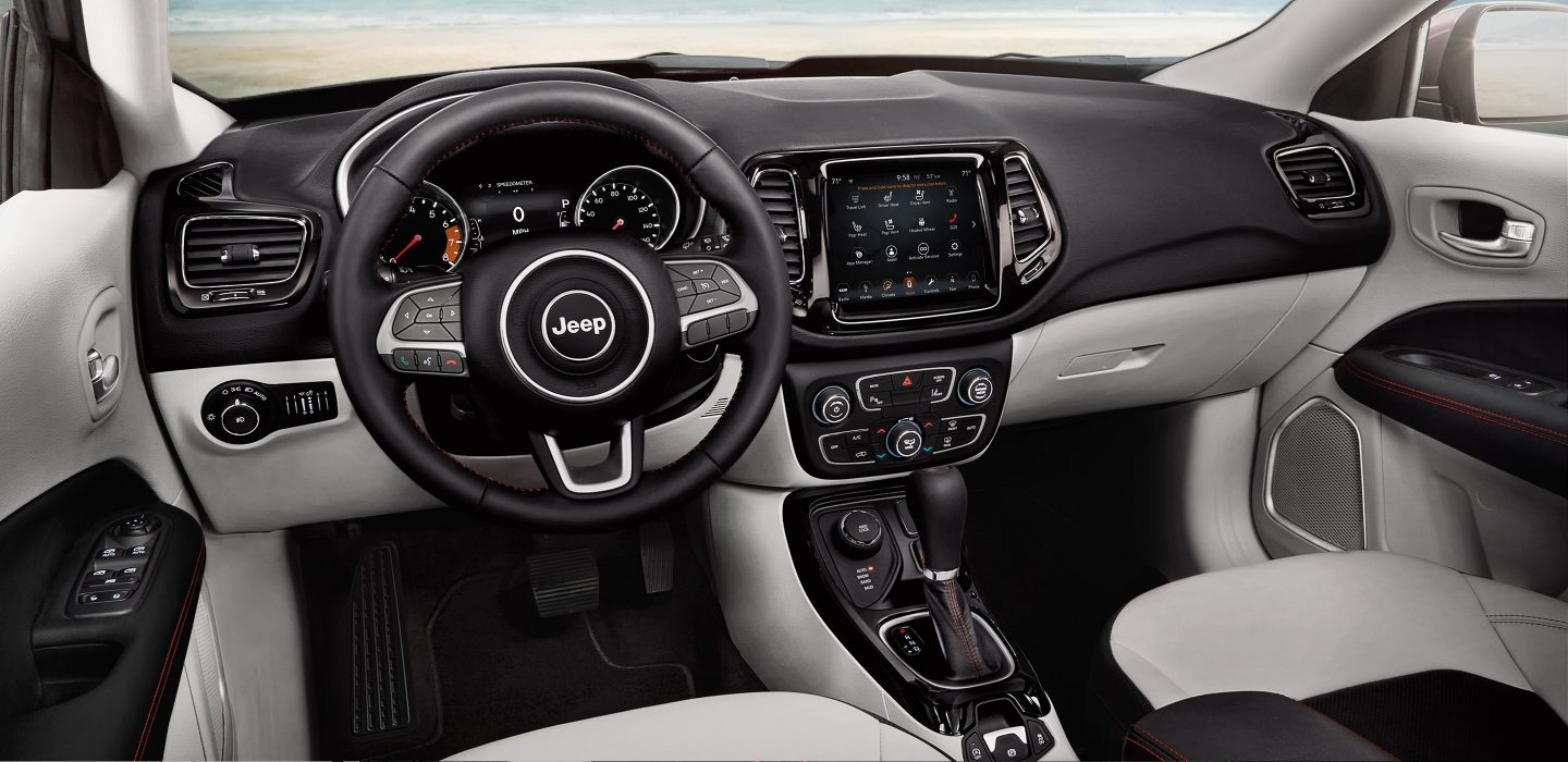 Cozy Interior of the 2018 Jeep Compass