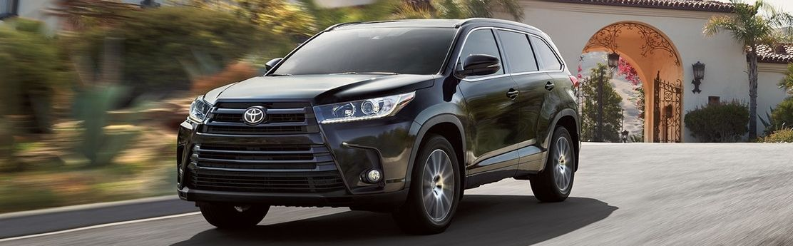 2018 Toyota Highlander Leasing in Sacramento, CA