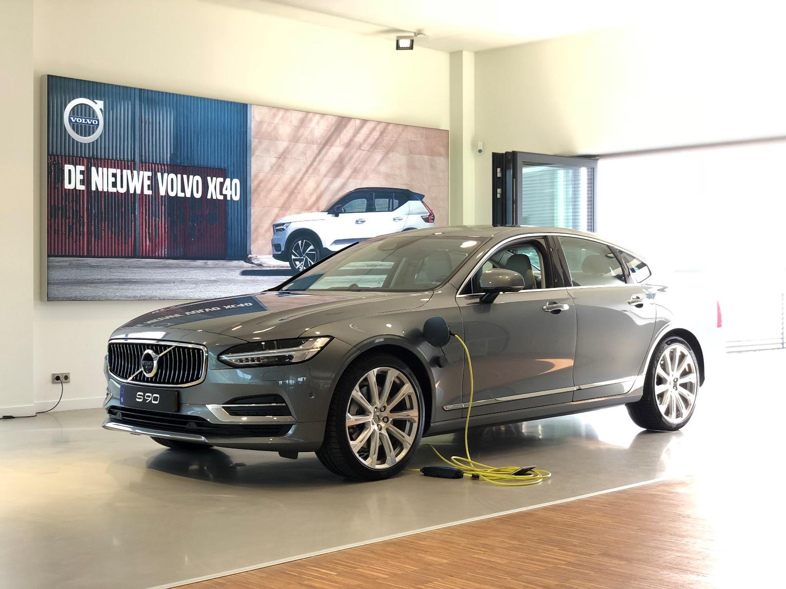 Exclusieve Preview 100 Elektrisch Volvo Rijden Mobility Centre