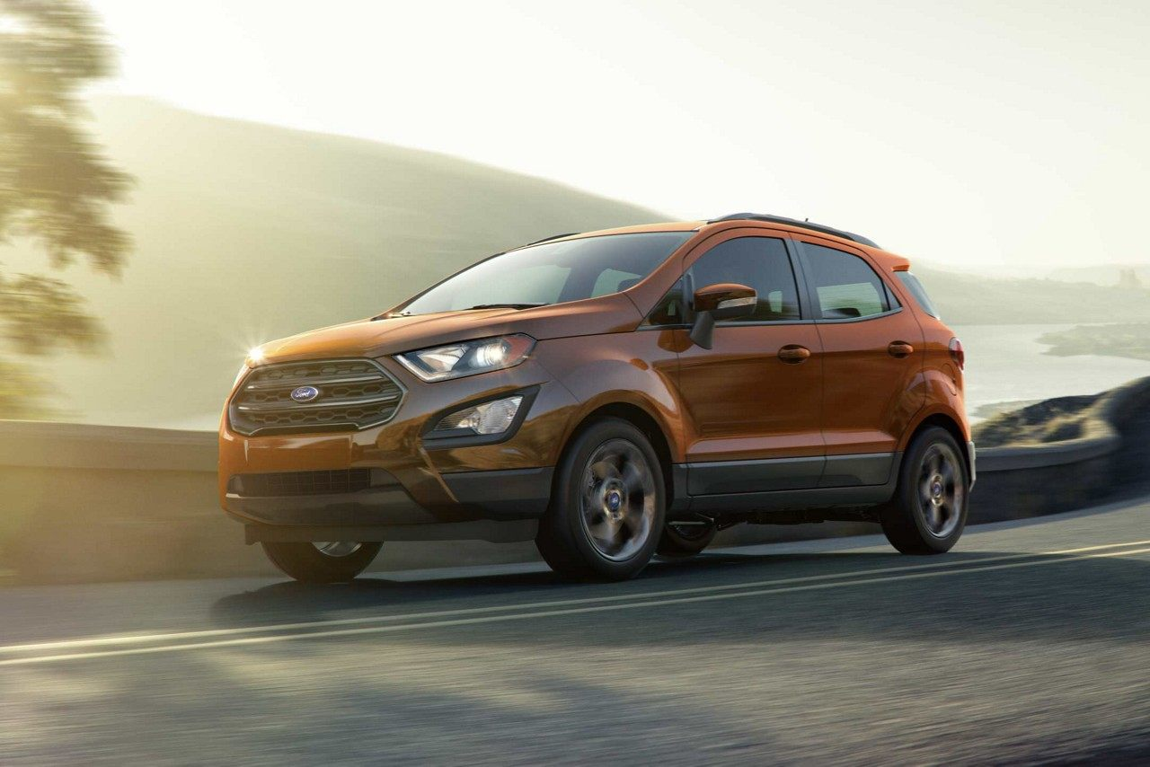 2018 Ford EcoSport Leasing near Arlington, TX