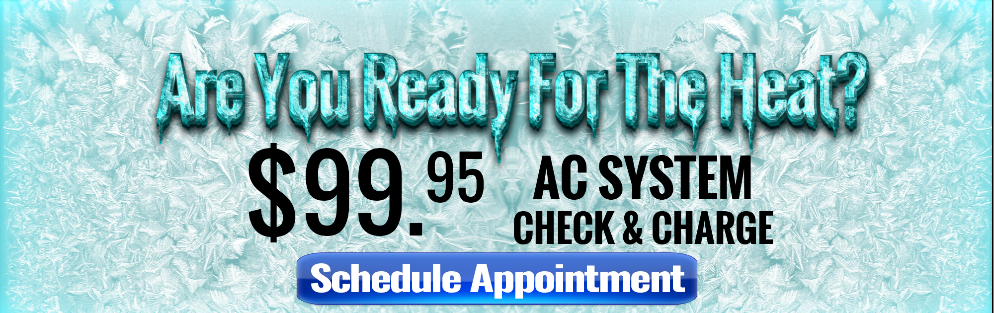Air Conditioning System Check & Charge at Brad Deery Motors near