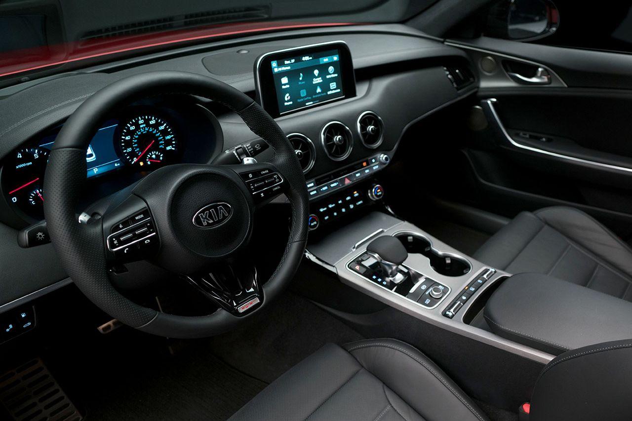 Advanced Interior of the 2018 Stinger