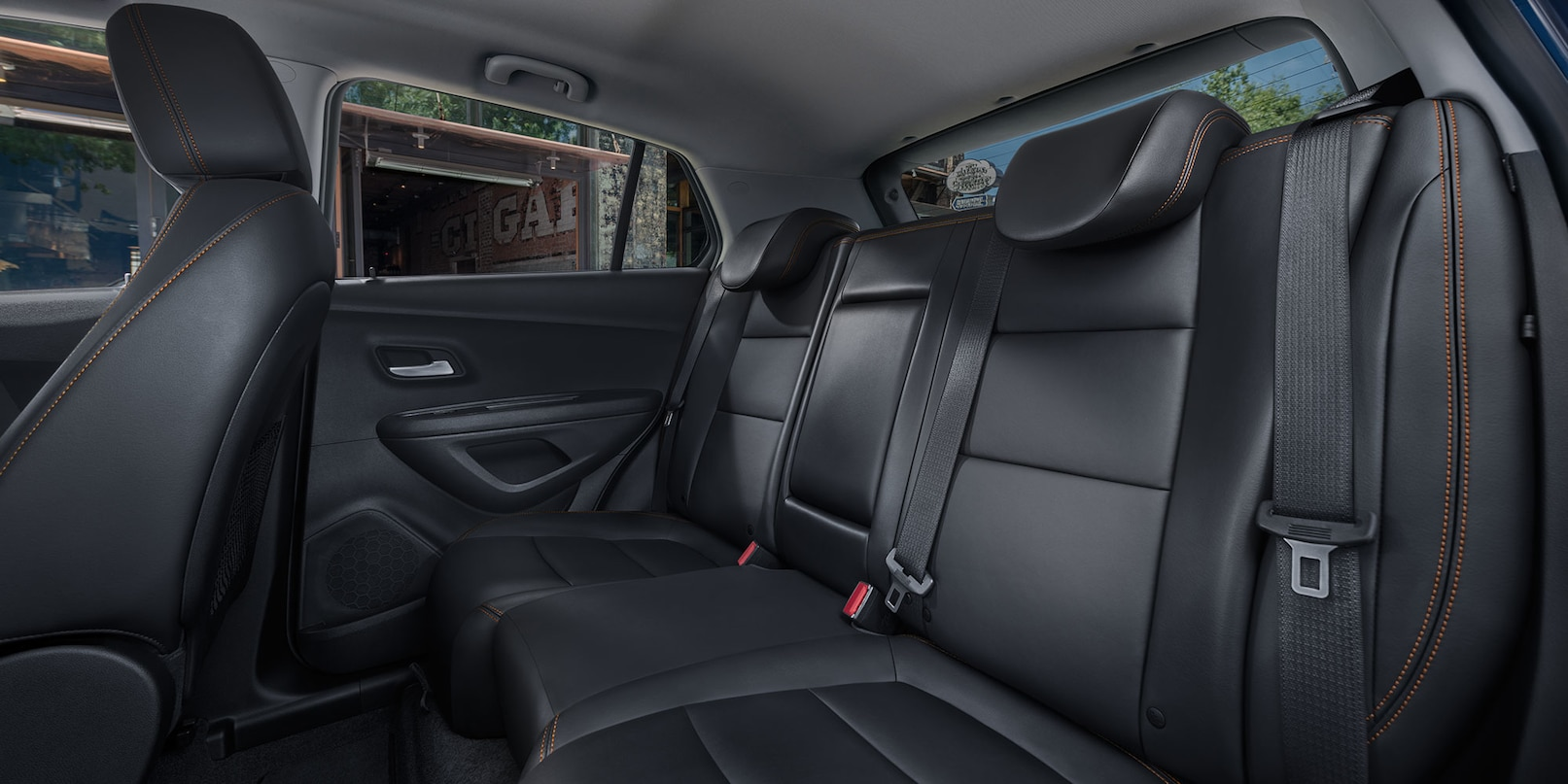Interior of the 2018 Chevy Trax