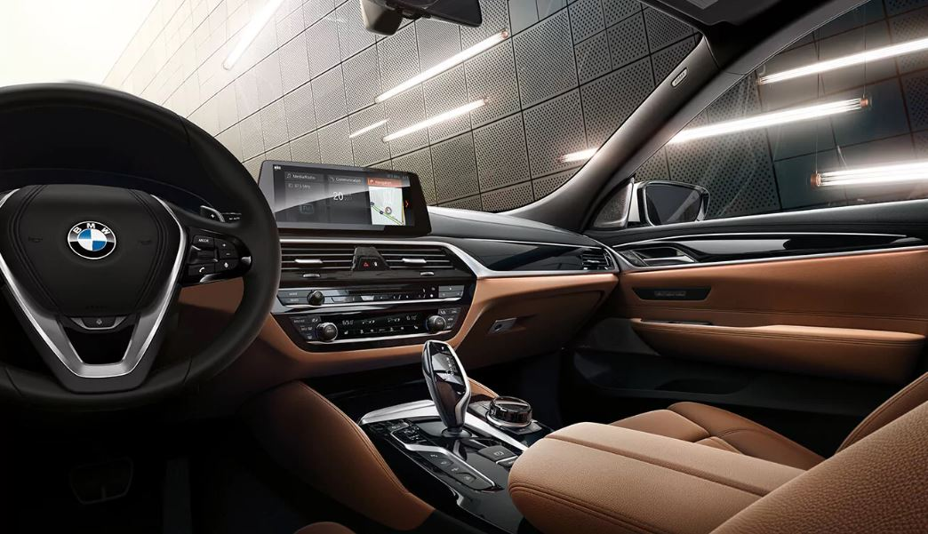 Interior of the 2018 BMW 6 Series