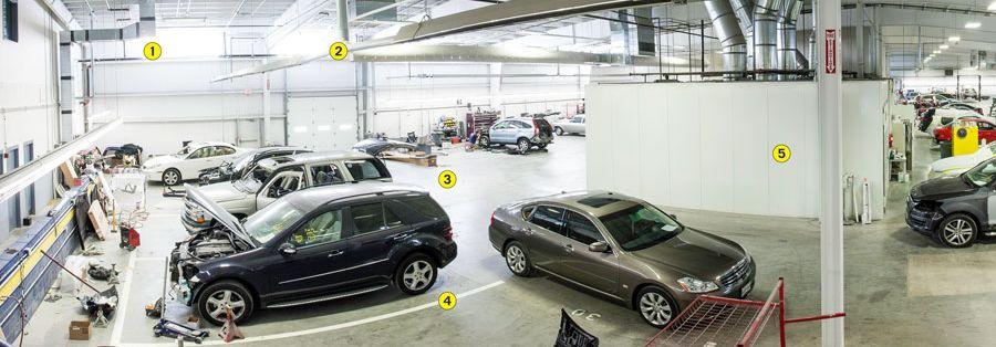 GREENSBORO AUTO BODY REPAIR CENTER | EUROBAHN BODY SHOP
