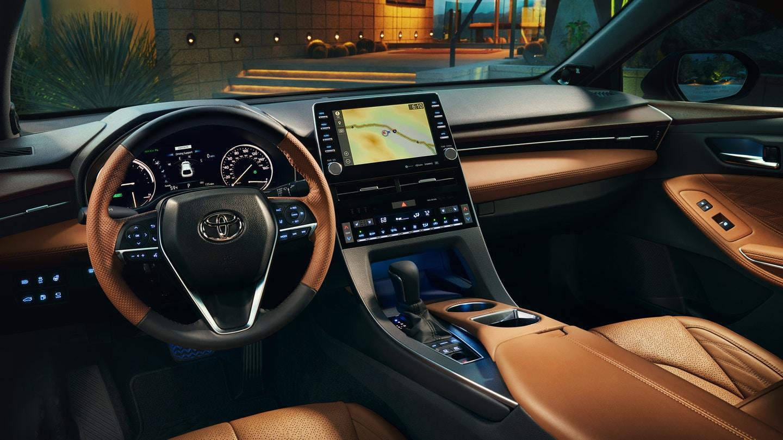 Interior of the 2019 Toyota Avalon Hybrid