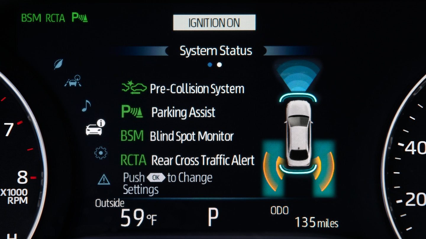 Standard Multi-Information Display in the 2019 Toyota Avalon
