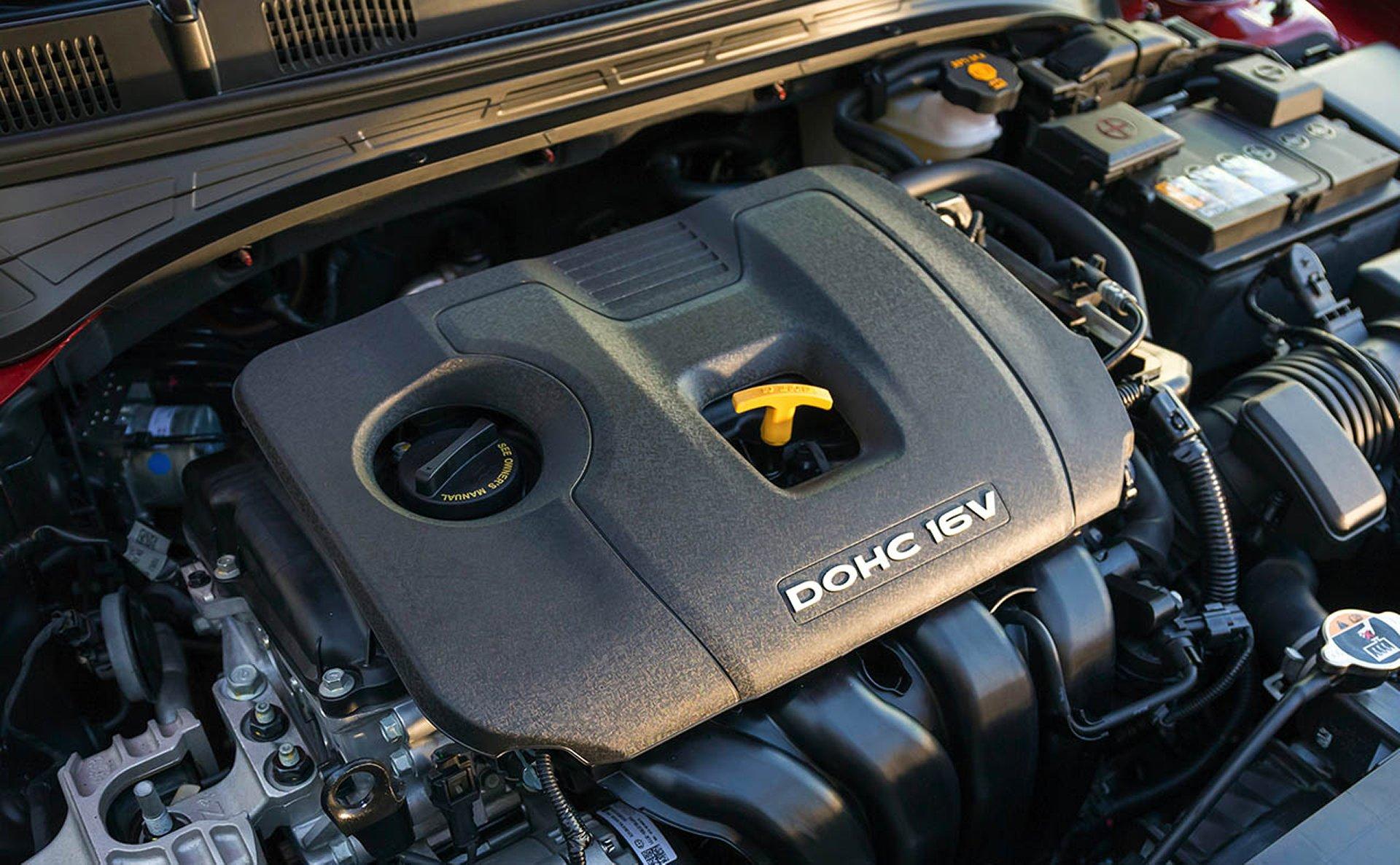 El eficiente motor del Forte 2019