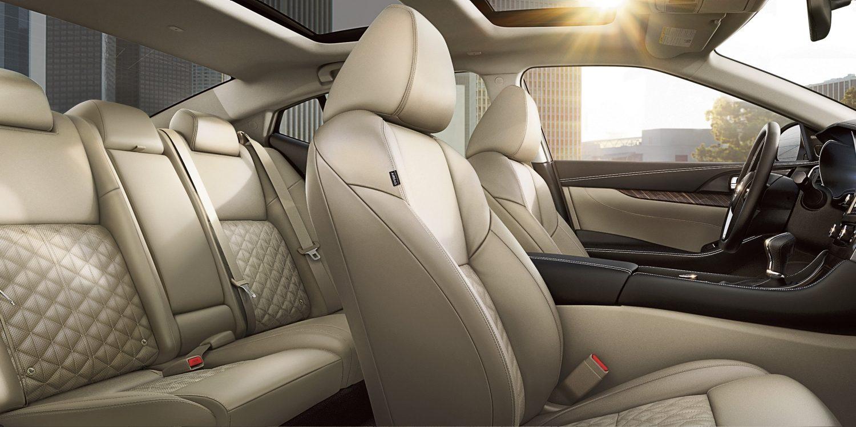 Roomy Interior of the 2018 Nissan Maxima.