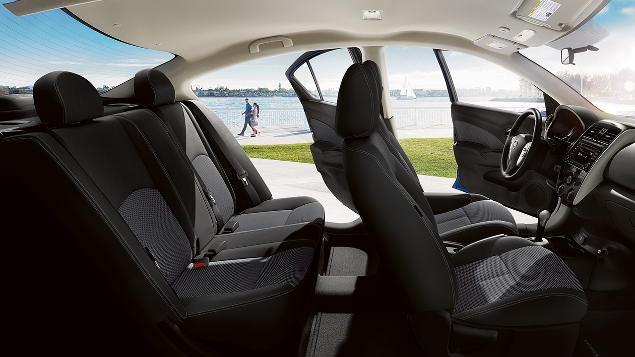 Plenty of Space in the 2018 Versa