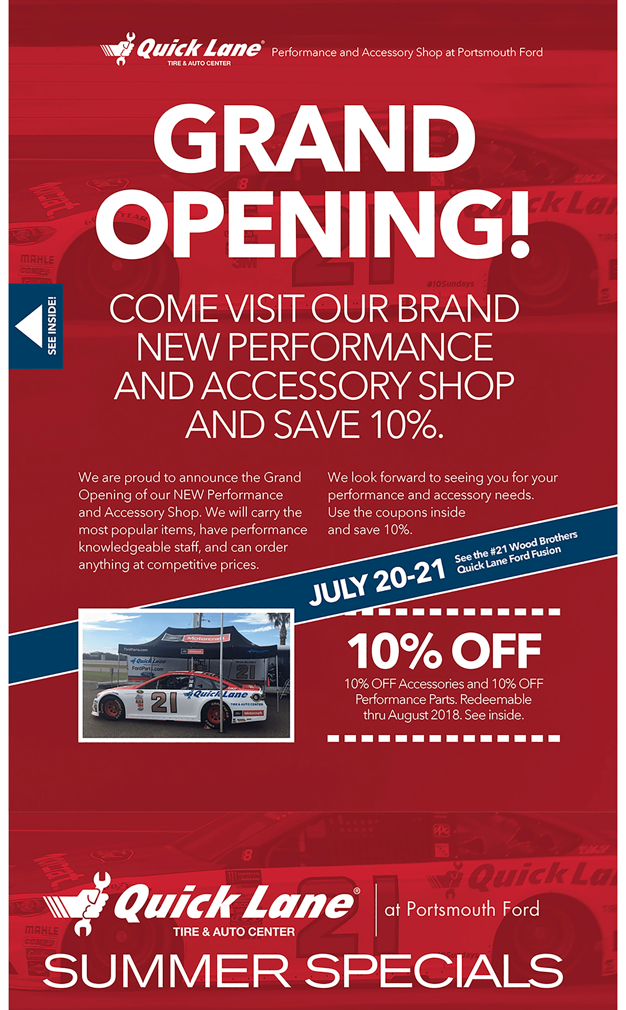 Service Department Coupons Specials Portsmouth Ford Lincoln