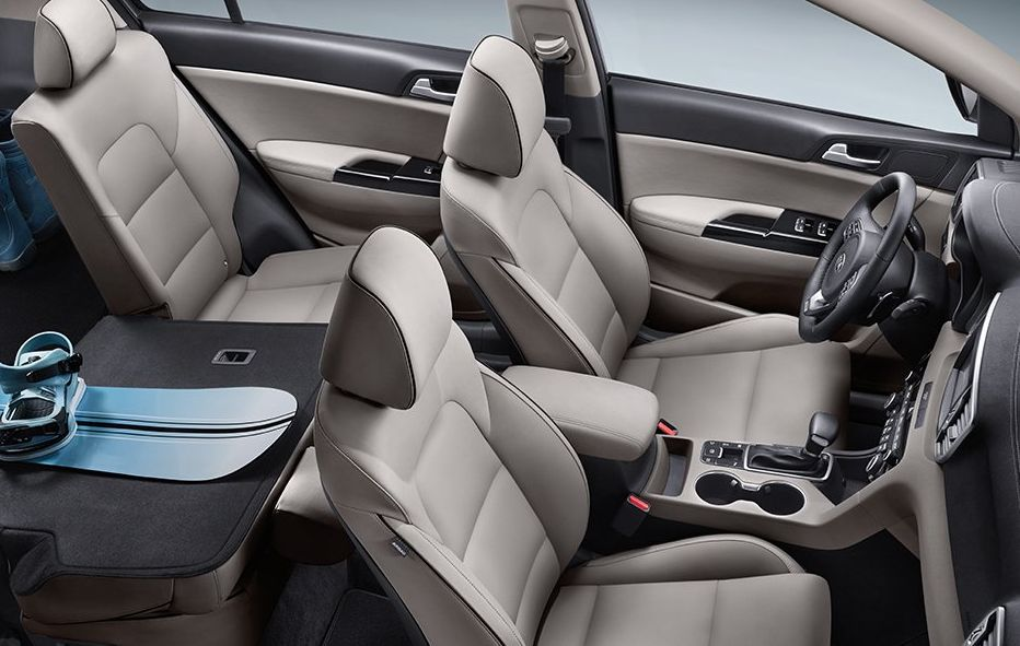 Get Comfortable in the Sportage