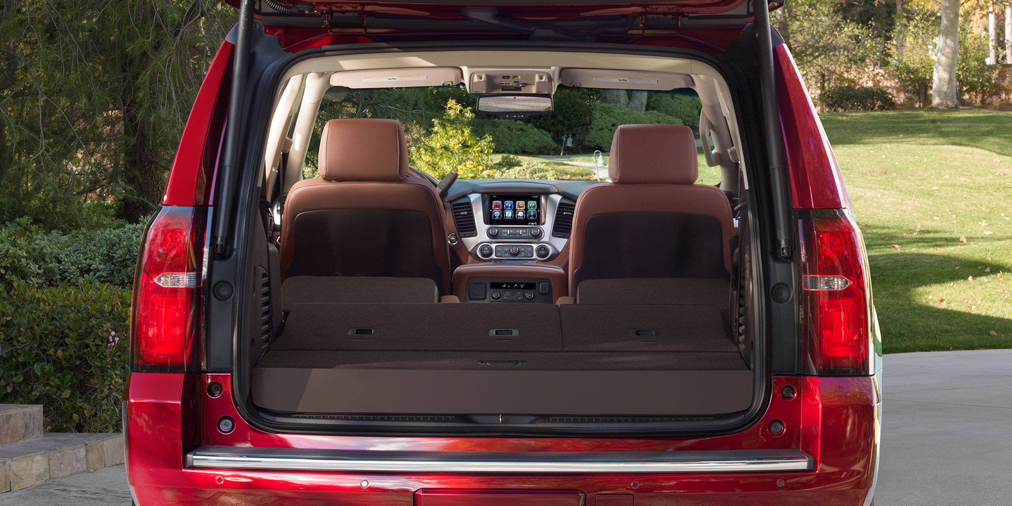 Spacious Interior of the 2018 Tahoe