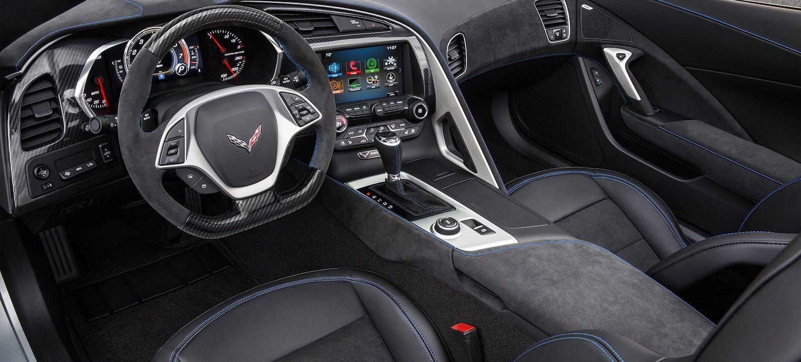 2019 Corvette Interior