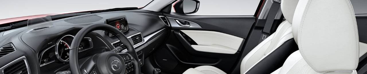 2018 Mazda3 Interior in White