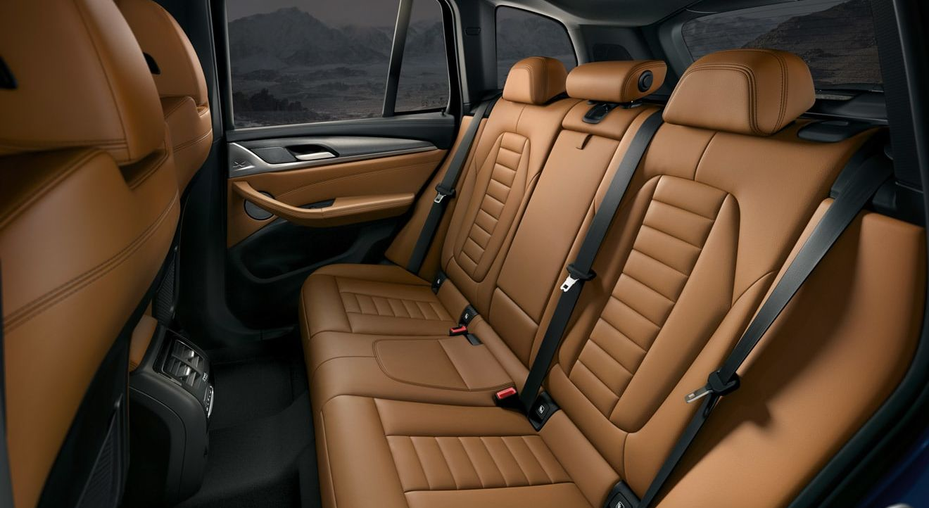 Spacious Rear Seating in the X3