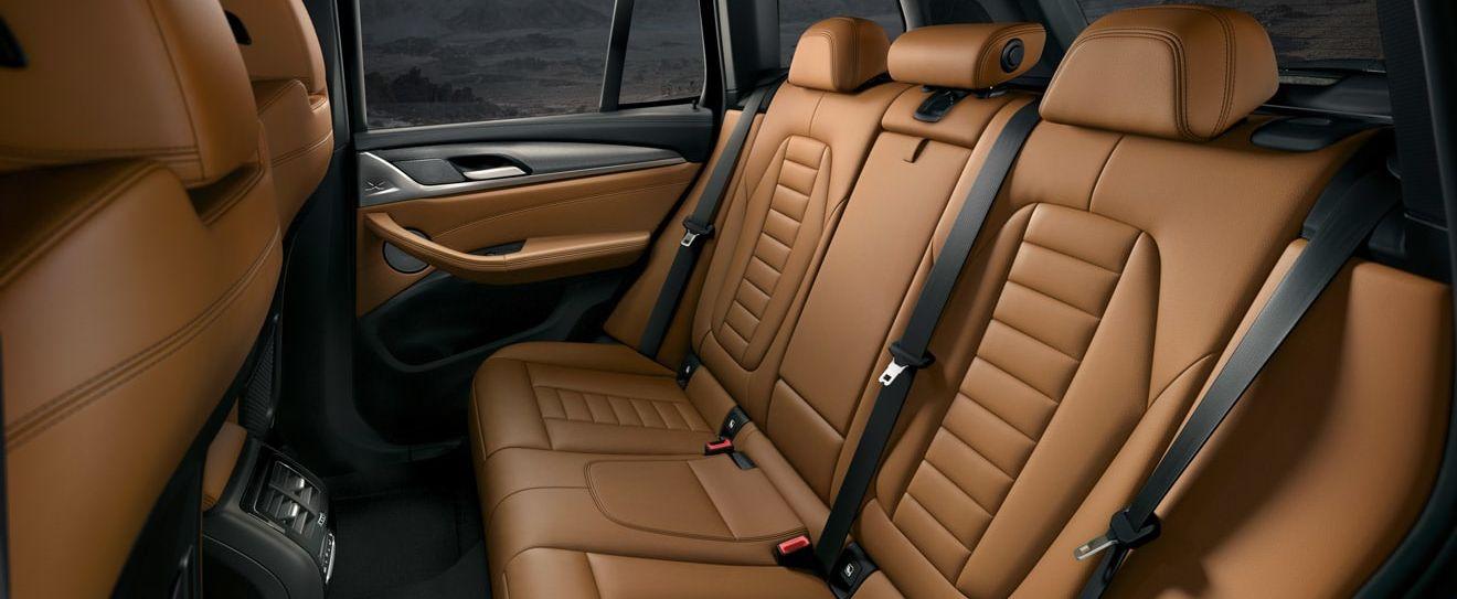 X3 Rear Seating