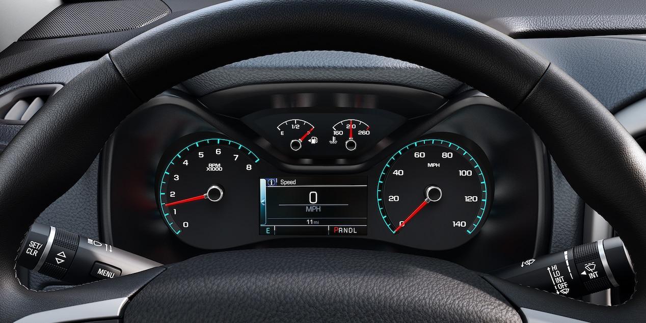 2018 Chevrolet Colorado Digital Instrument Gauge