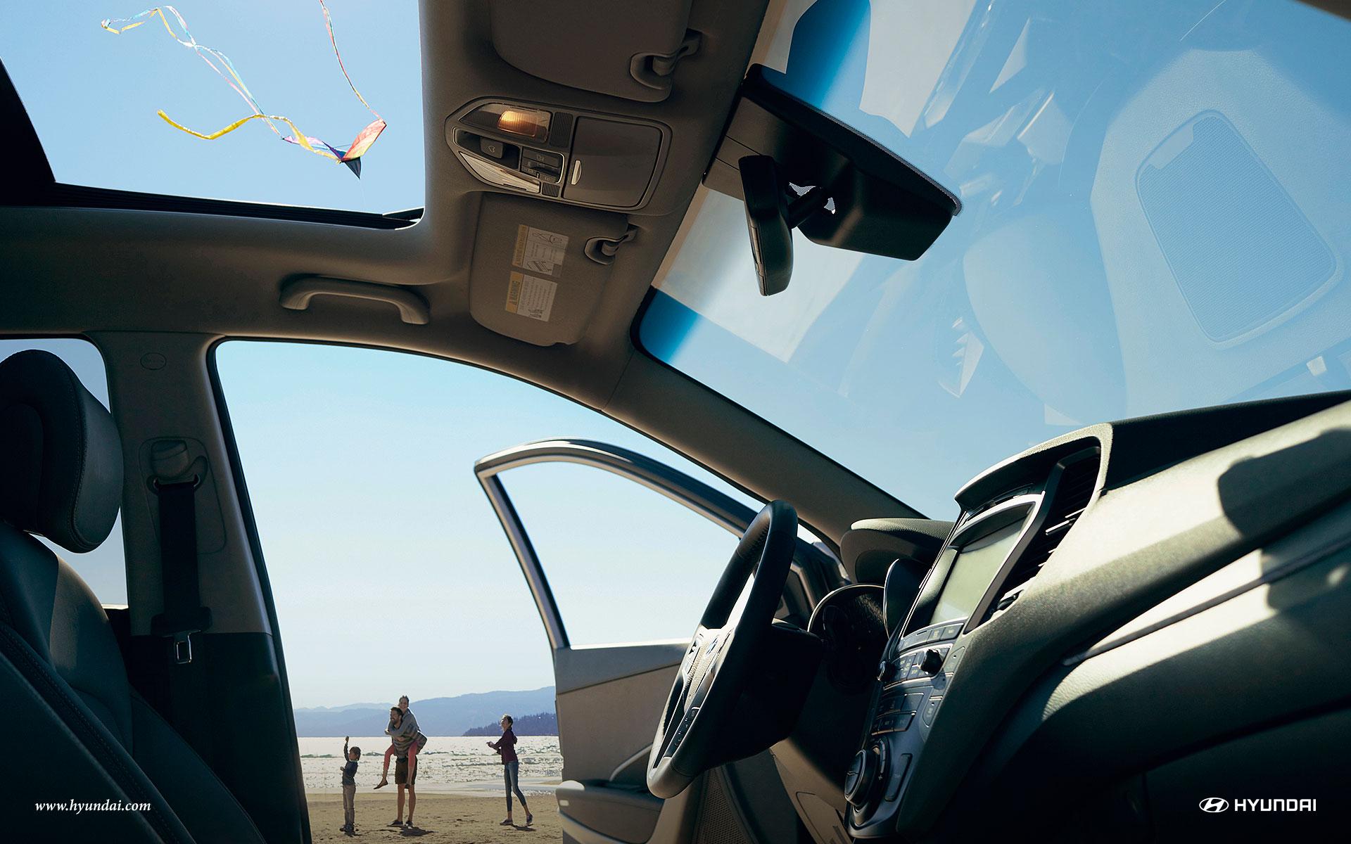 Make Memories in the Hyundai Santa Fe!