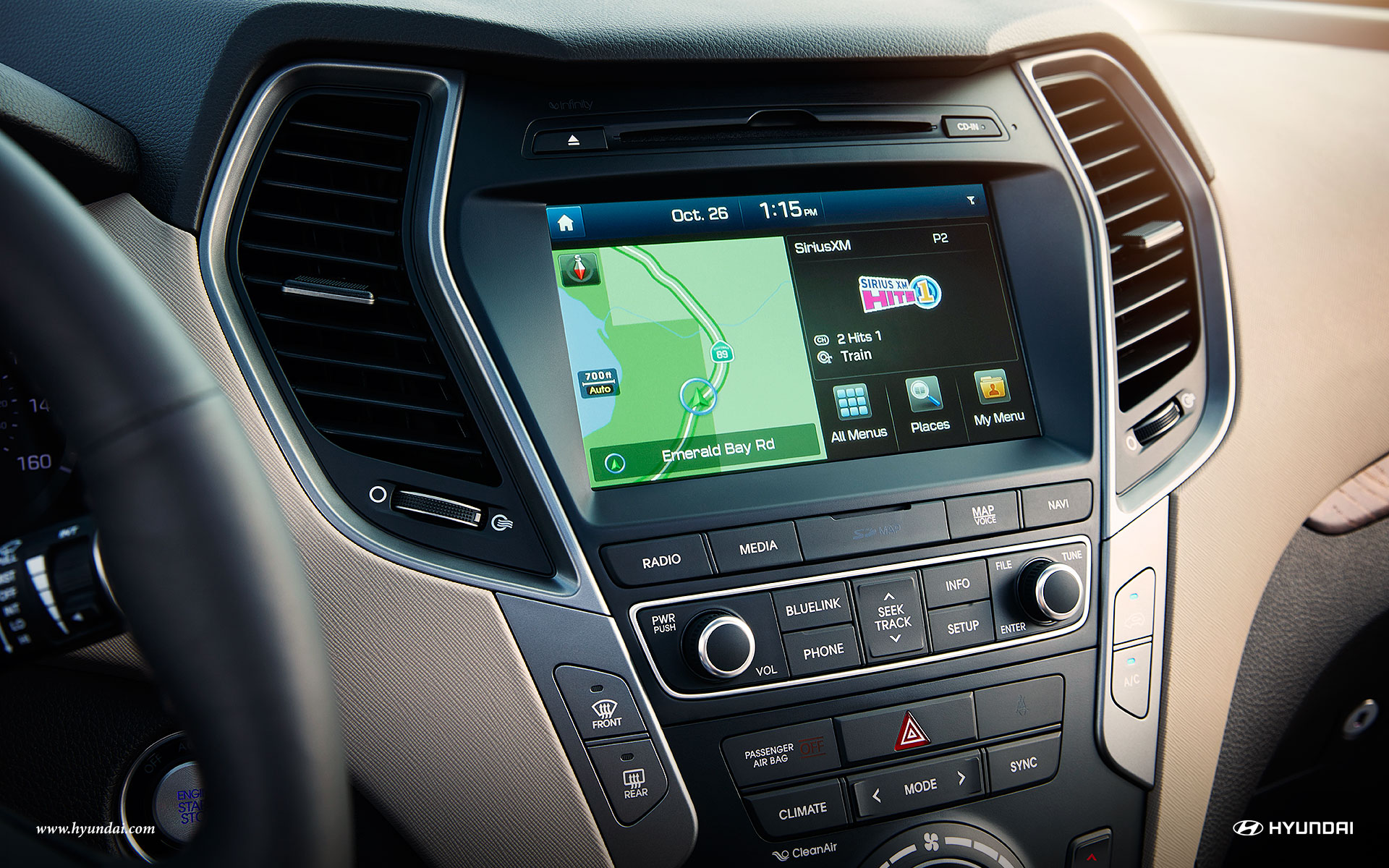Intelligent Features in the 2018 Santa Fe