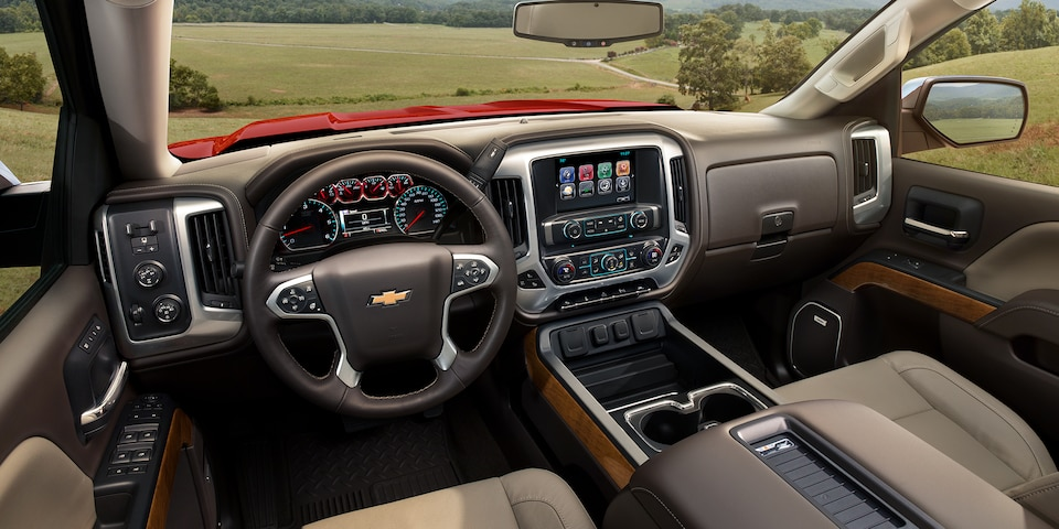 2018 Chevrolet Silverado 1500 Center Console