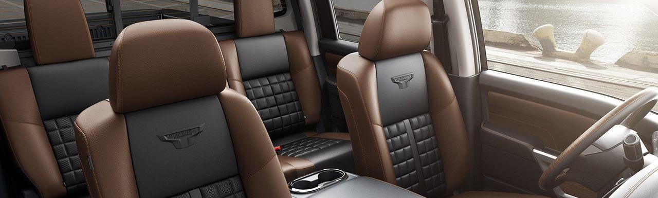 Cozy Confines of the Nissan Titan